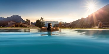 Allergiker-Hotels - Pools: Pool mit Chlor - Panoramahotel Oberjoch
